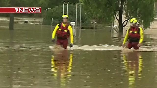 Record floods in Queensland, Australia
