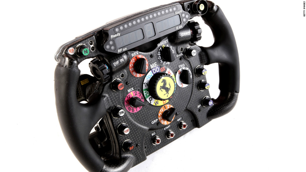 Brazil's Felipe Massa has praised the aggression of the new car and described it as part of his dreams. Massa will hope the newly-designed steering wheel can guide him to greater success in 2012, after finishing last season sixth.