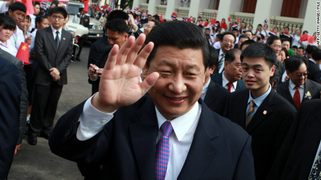 The rise of China's Xi Jinping