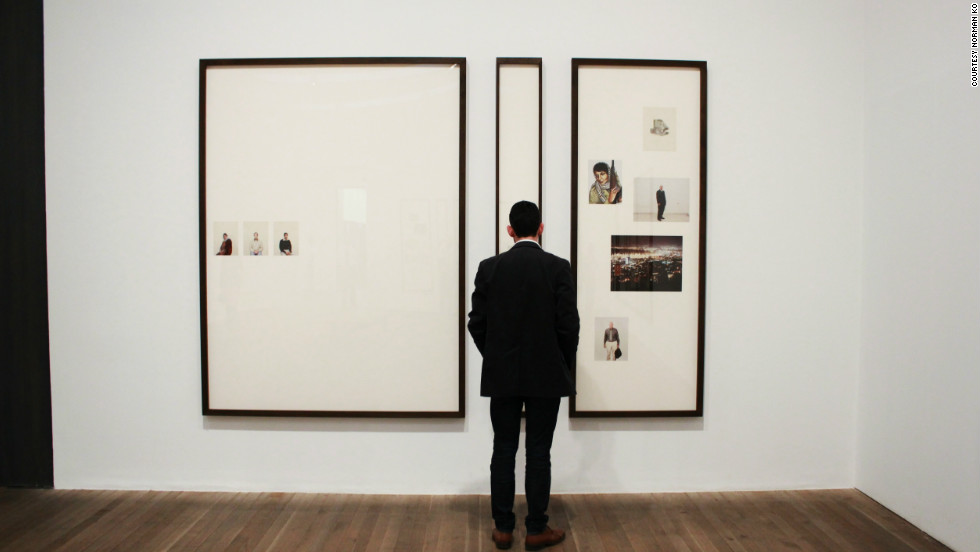 """Norman Ko captured this interesting perspective he called """"architecture rivals art"""" at the Tate Modern. """"We found many affordable or free activities -- walking across the Millenium footbridge, seeing art in galleries or on the street, listening to live music at the Notting Hill Arts Club."""""""