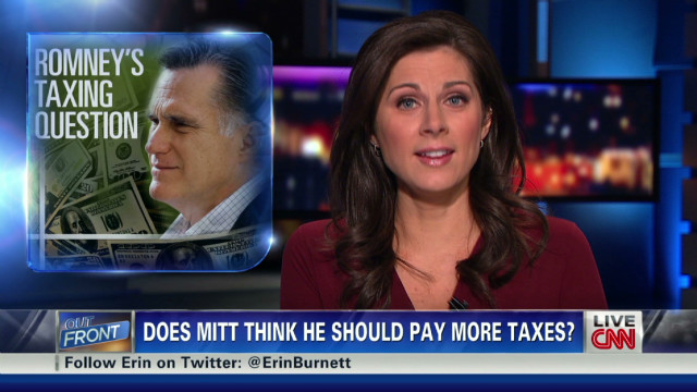 Does Romney think he should pay more?