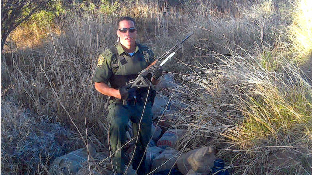 Border patrol agent Brian Terry was killed in December 2010.