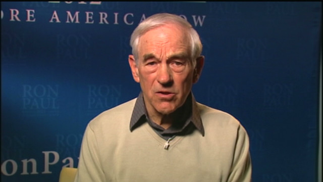Ron Paul on staying in the race