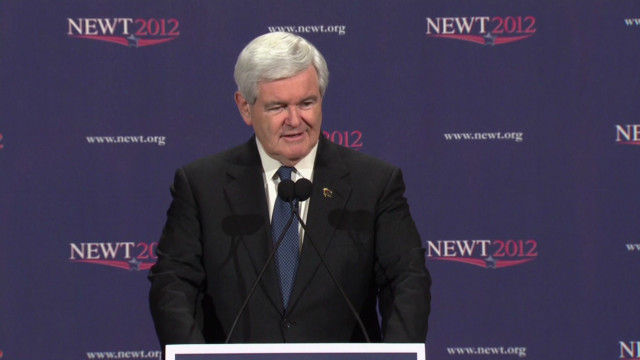 Gingrich vows to continue to Tampa