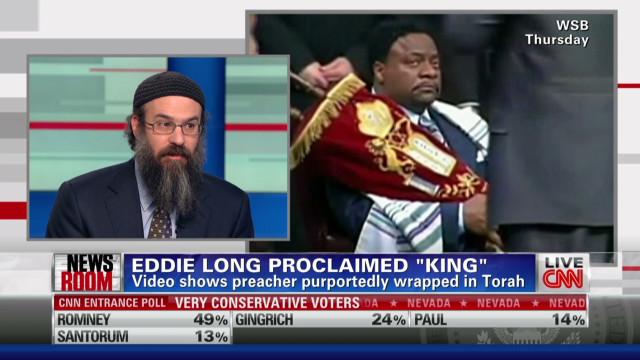 Bishop Long proclaimed 'King'
