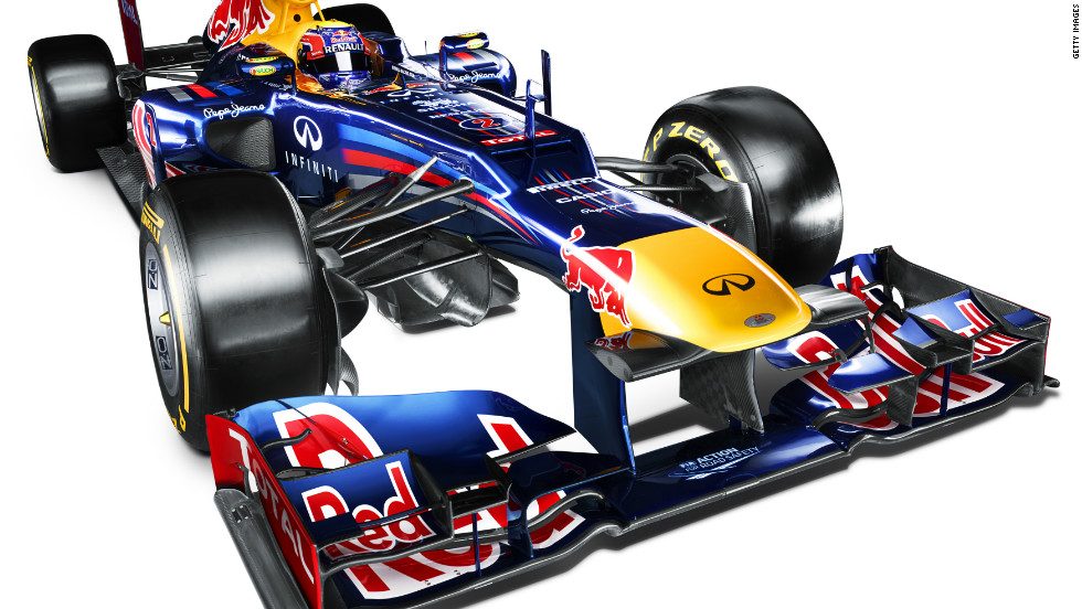 Reigning constructors' champions Red Bull have unveiled their new RB8 car for the 2012 Formula One season. The RB8 is the UK-based Austrian team's eighth F1 car.