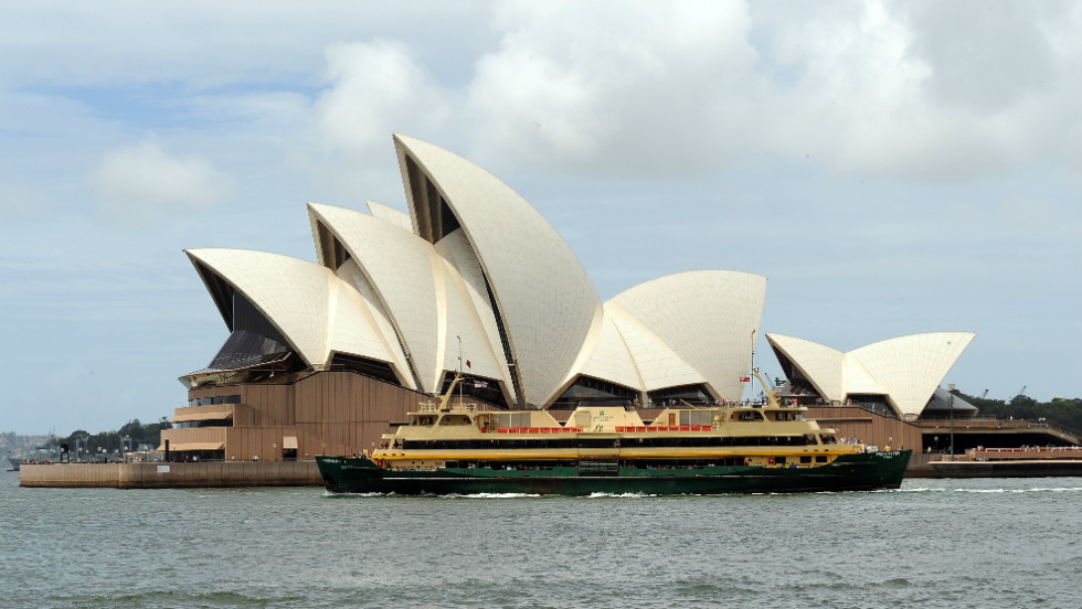 The air conditioning system in the Sydney Opera House has been adapted to utilize sea water from the surrounding harbour.