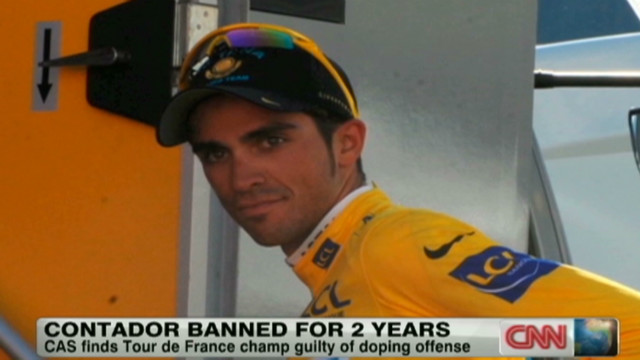 Contador loses drug case
