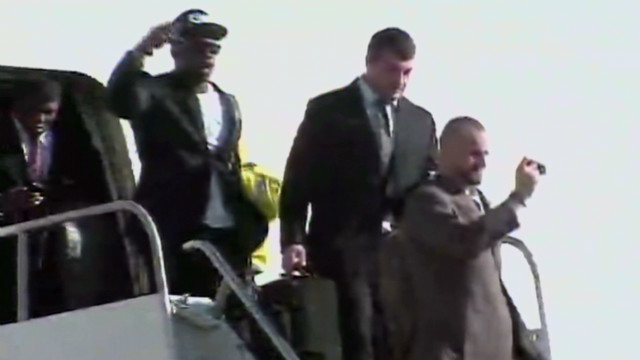 Super Bowl champions return home