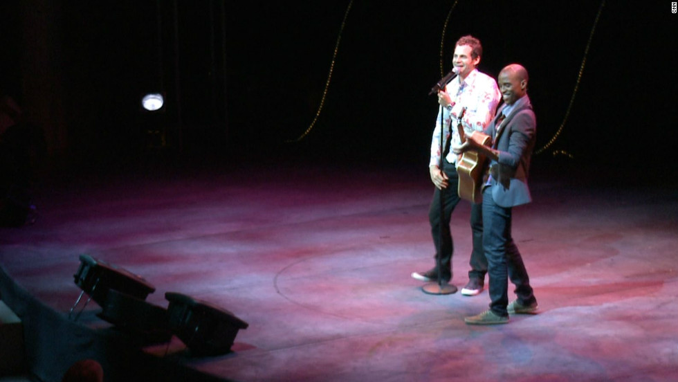 Rabinowitz has teamed up with another South African comedian Tats Nkonzo. The duo use jokes to stir up stigmas and stereotypes in a nation striving to come to terms with its racist past.
