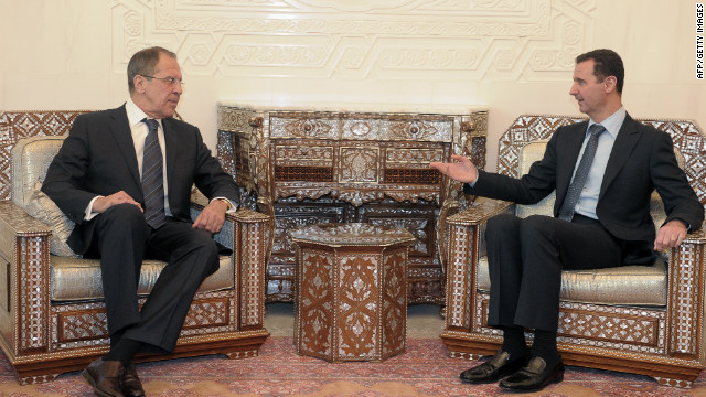 Russia FM arrives in Syria for talks