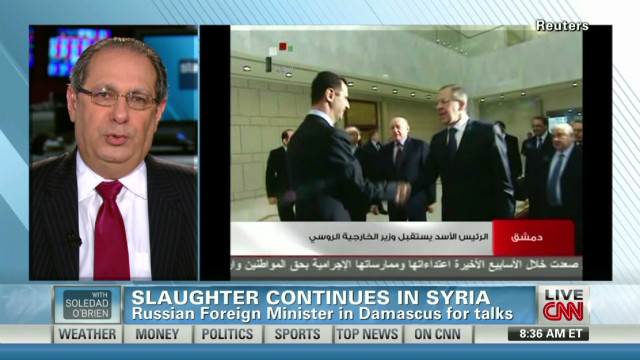 Kattouf: Syria already in civil war