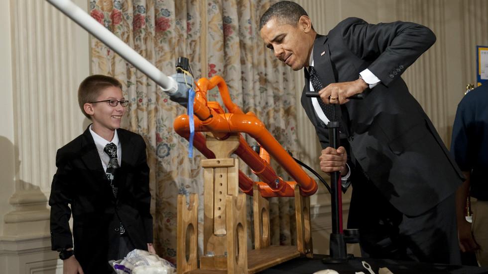 President Obama loves science