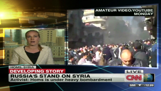 Activists: Homs under heavy bombardment