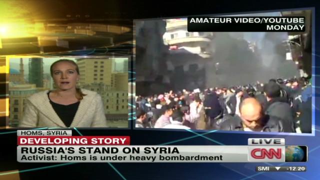 Activists: Homs under heavy bombardment