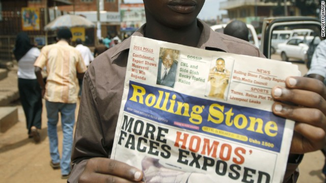 Uganda official: Homosexuality a threat