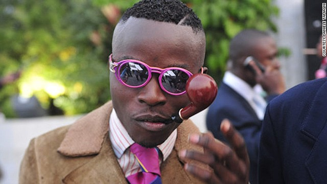 Dedicated followers of fashion: Congo's designer dandies