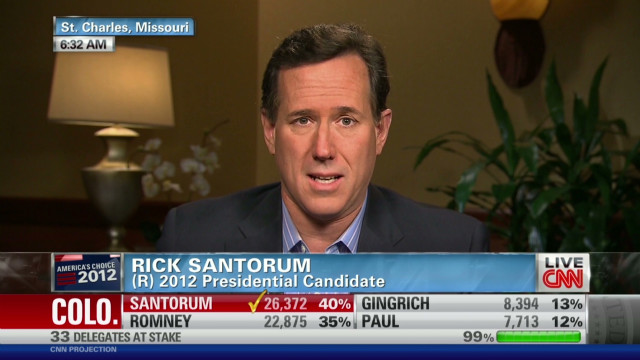 Santorum: I'm the best choice vs. Obama