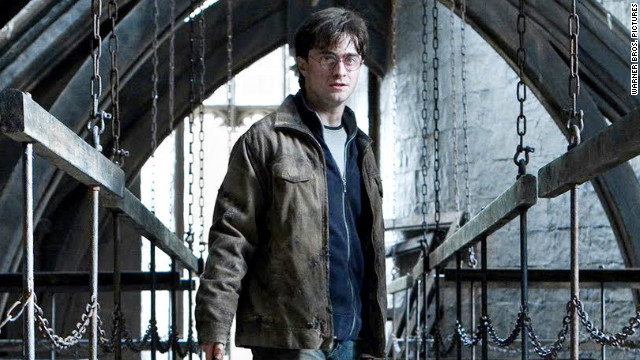 "Daniel Radcliffe starred in the ""Harry Potter"" movie series as the titular boy wizard."