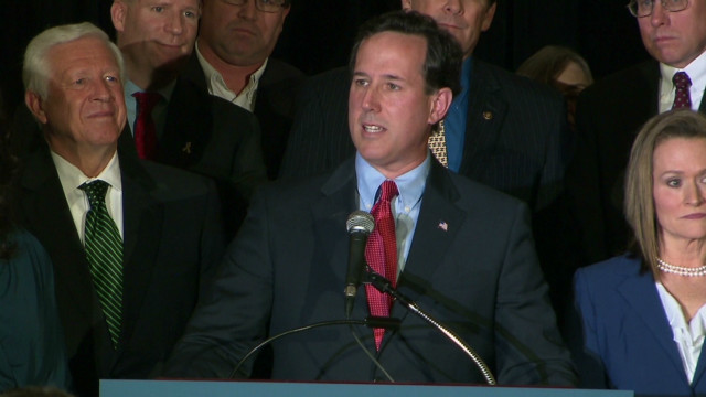 Santorum sweeps GOP contests