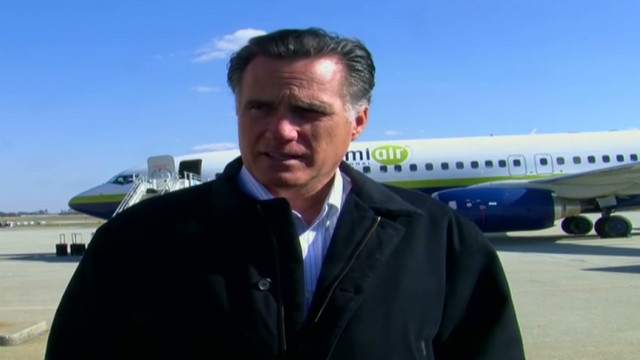 Romney slams GOP rivals over economy