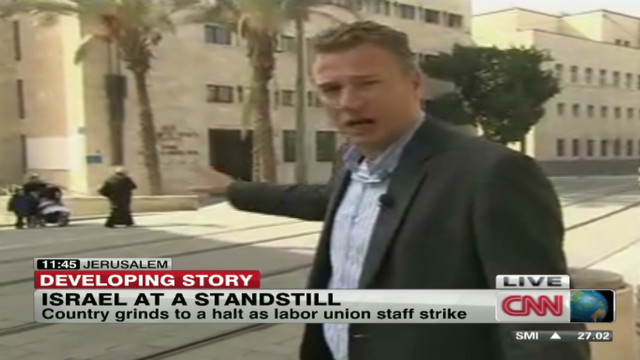 Labor strike brings Israel to standstill