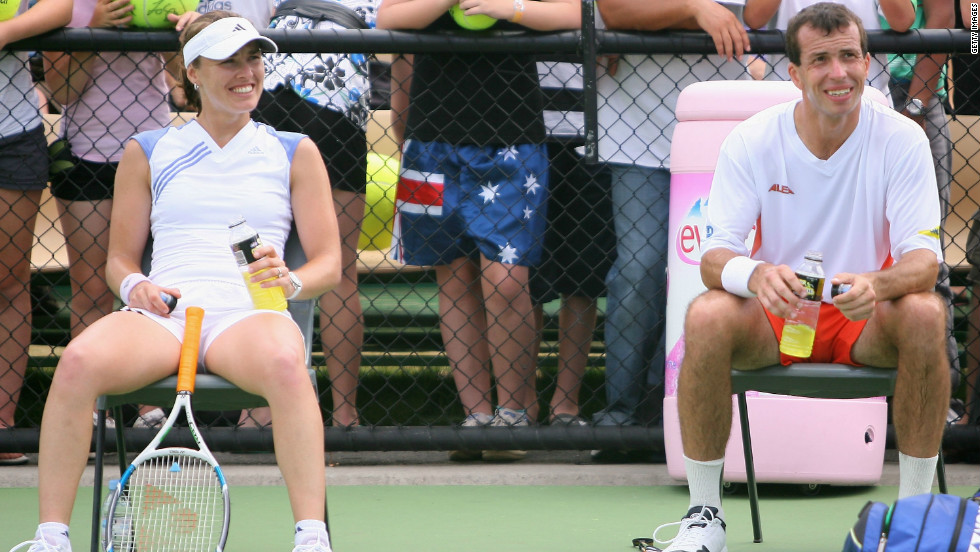 Former women's No. 1 Hingis became engaged to Stepanek in 2006 but a year later the couple announced through the ATP Tour they had split. Hingis, who won five grand slam titles, retired in 2007 after testing positive for cocaine during Wimbledon. Stepanek married fellow Czech Nicole Vaidisova in July 2010.
