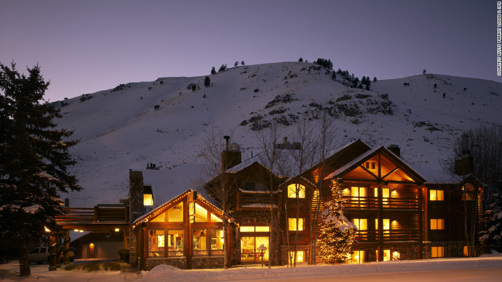 Tucked among the Grand Tetons, the 30-room Rusty Parrot Lodge near the Jackson Hole Mountain Resort offers cozy luxury ideal for couples.