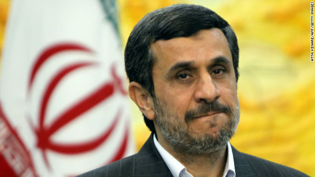 Iranian President Mahmoud Ahmadinejad in Tehran on December 18.