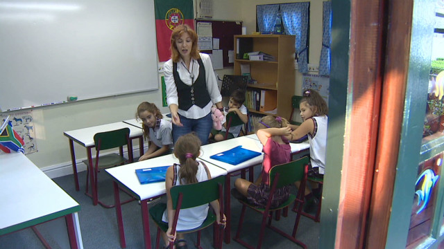 Greek teachers find work in South Africa