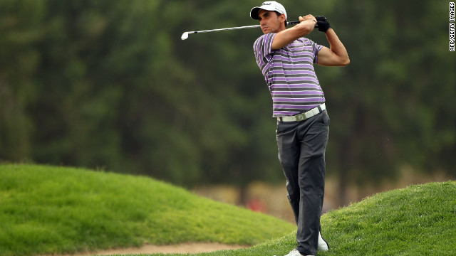 Spain's Rafael Cabrera-Bello leads an impressive field at the Dubai Desert Classic after the opening round Thursday.