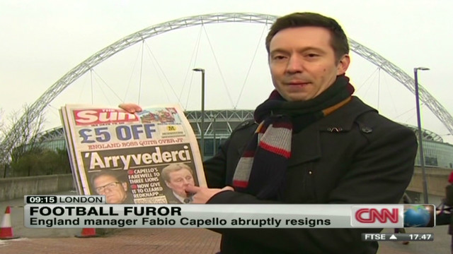 Who will replace Fabio Capello?