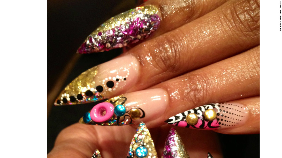 """Nail technicians from across the country attend Tashina """"Poochie"""" Green's classes on how to create safe, eye-catching nail art."""