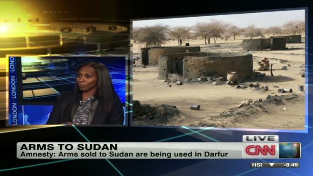 Sudan arms embargo violated?