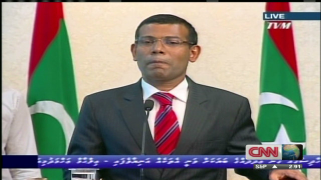 Maldives president 'forced to resign'