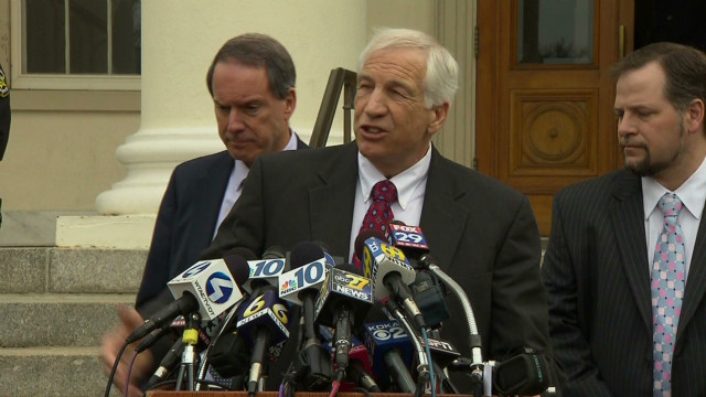 Sandusky: 'These people turned on me'
