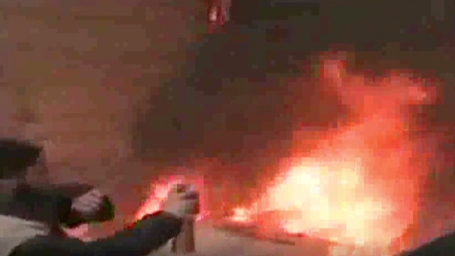 New blasts shake Homs, Syria.