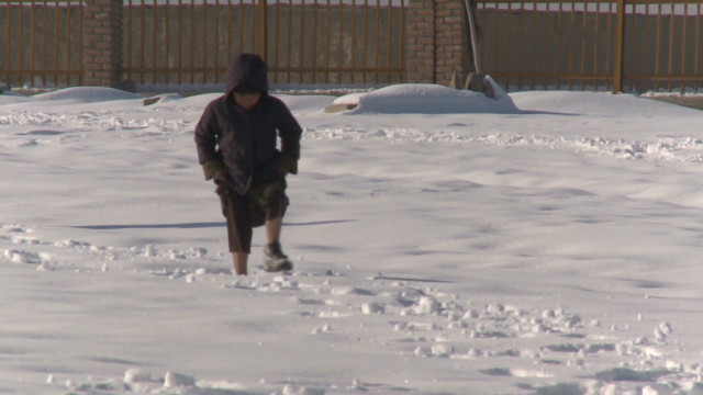 Extreme cold claims Afghan children