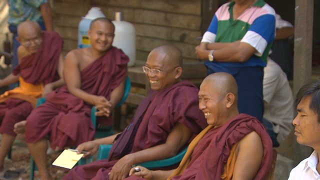 Monks out of jail, back in monastery