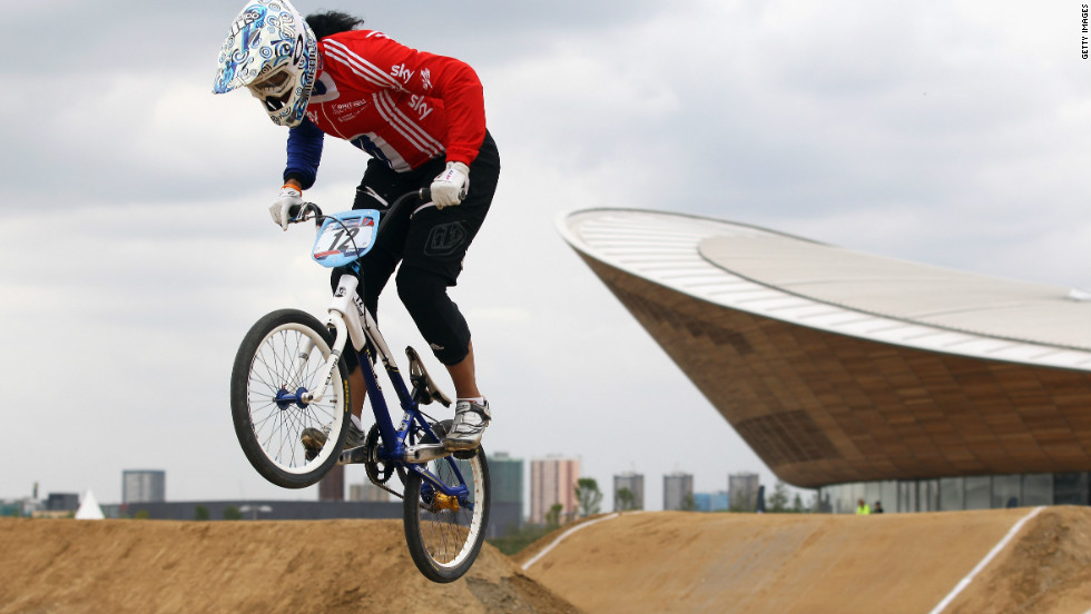 British BMX racer Shanaze Reade is heading into London 2012 as one of the favorites to claim gold. The 23-year-old is a three-time world champion in the sport, which is entering only its second Olympic Games.