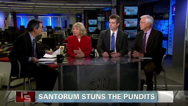 Santorum stuns the pundits
