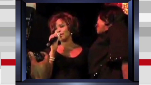 Whitney Houston's final performance