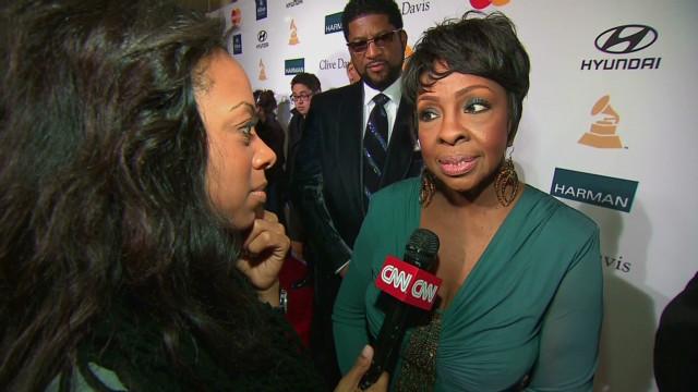 Celebrities react to Houston's death