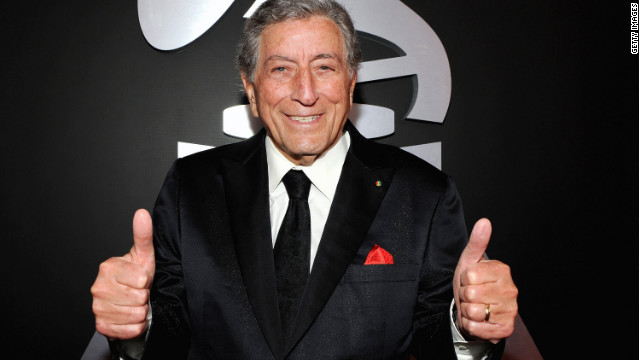 LOS ANGELES, CA - FEBRUARY 12: Singer Tony Bennett arrives at the 54th Annual GRAMMY Awards held at Staples Center on February 12, 2012 in Los Angeles, California. (Photo by Larry Busacca/Getty Images For The Recording Academy)