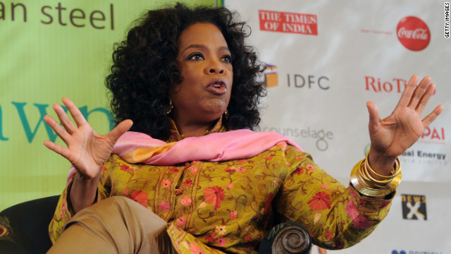 Oprah followed up with a flurry of defensive replies that were apparently in response to reader criticism.