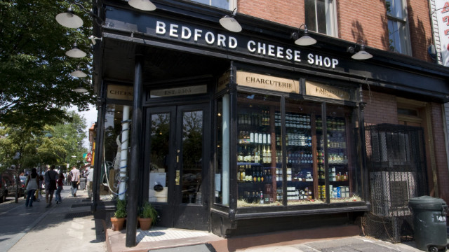 Bedford Cheese shop is one of many local businesses catering to discerning shoppers.