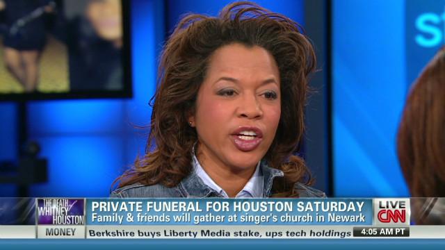Private funeral for Houston Saturday