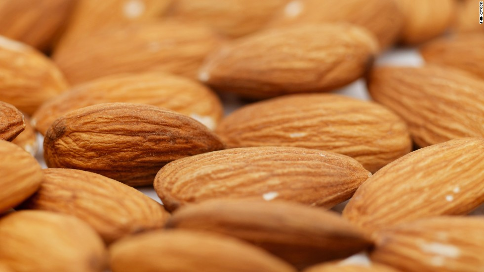 Many dieters shy away from nuts because of their high calorie and fat count. But studies show that eating a handful several times a week can prevent heart disease and ultimately help you shed pounds since they fill you up and stop you from snacking on other things. Almonds, in particular, contain lots of monounsaturated fats and fiber. (Healthy swap: Replace peanut butter with almond butter.)