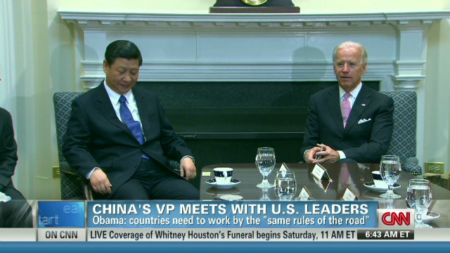Importance of Chinese VP visit