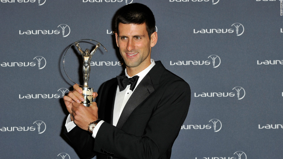 The 24-year-old received recognition of his incredible year last week, when he was named the Laureus Sportmans of the Year for 2011.